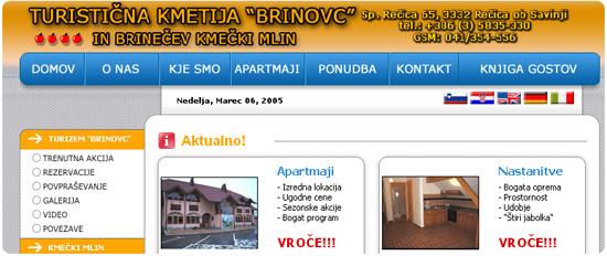 BRINOVC (STARA SPLETNA STRAN)