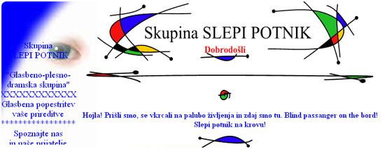 Skupina SLEPI POTNIK